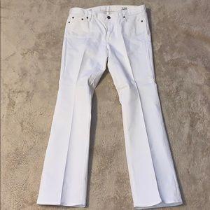 J Crew White Bootcut Jeans Size 32